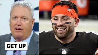 Rex Ryan reacts to Baker Mayfield leading the Browns to the playoffs | Get Up