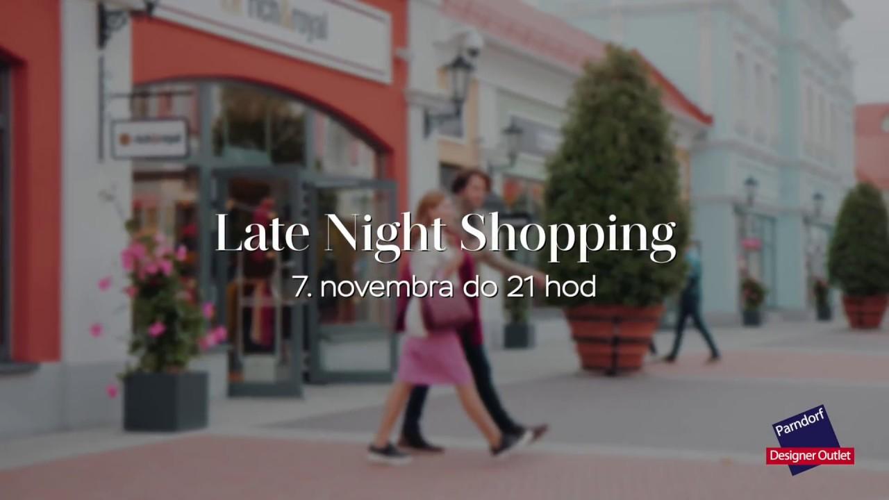 csipke fel forró online értékesítés nagybani Designer Outlet Parndorf - Late Night Shopping 7. novembra HU ...