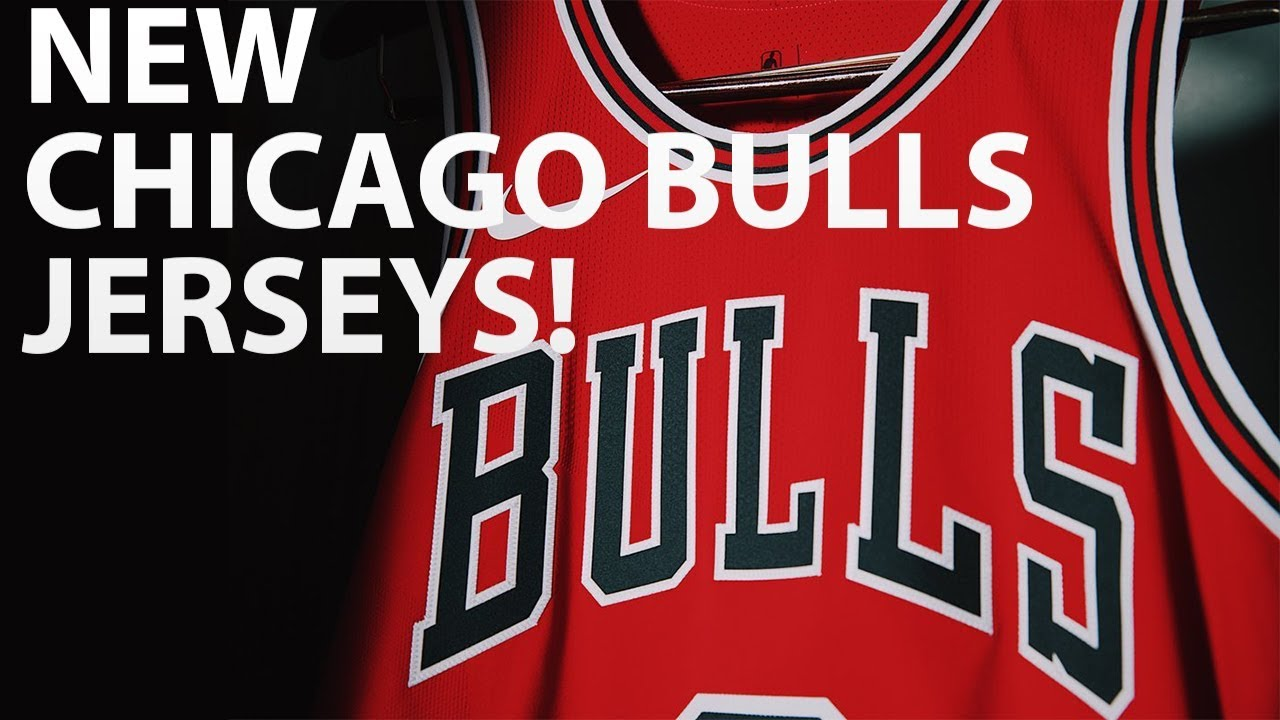 big sale 2970a b25ba CHICAGO BULLS NEW UNIFORMS! | 2 NEW BULLS JERSEYS REVEALED