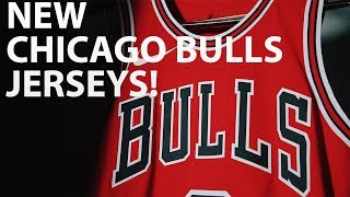 CHICAGO BULLS NEW UNIFORMS! | 2 NEW BULLS JERSEYS REVEALED