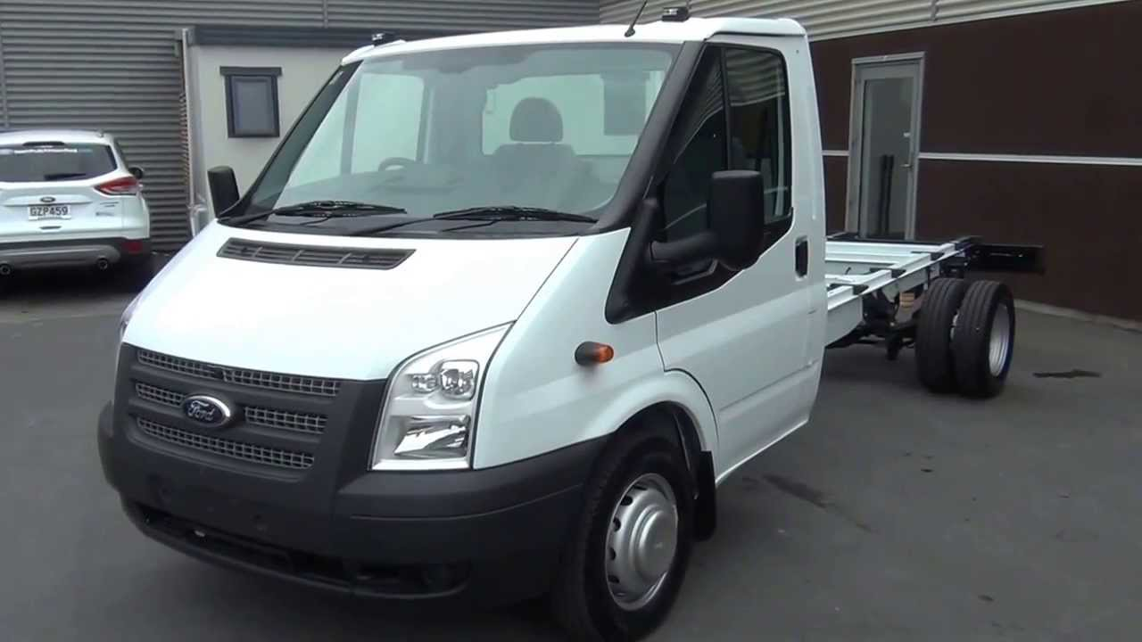 Ford Transit Wagon >> Ford Transit Cab Chassis-2013 - YouTube