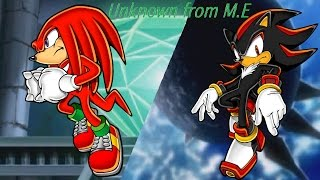 knuckles and shadow unknown from m e requested jamari avinger