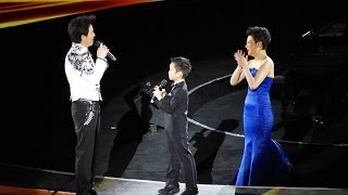 Ryan Wang Plays in Yundi Li 2014 Beijing New Year Concert 6岁王帅文在李云迪音乐会上表演