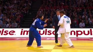Amandine Buchard FRA - Uta Abe JPN 0:1  -52Kg Grand Slam Paris 2018 Final