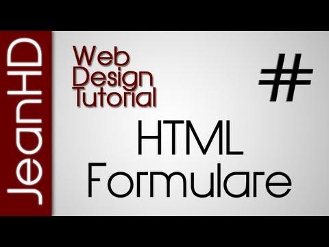 HTML Formulare - Web Design Tutorial thumbnail