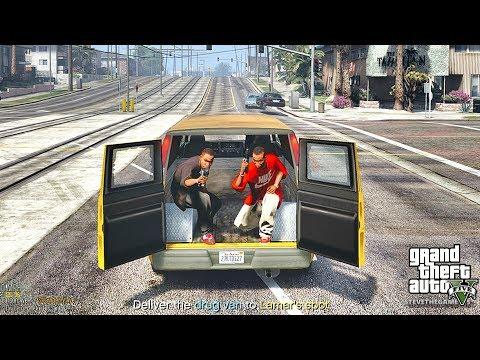 GTA 5 REAL LIFE CJ MOD #25 - RANCHO VANS!!!(GTA 5 REAL LIFE MODS/ THUG LIFE) 4K 60FPS