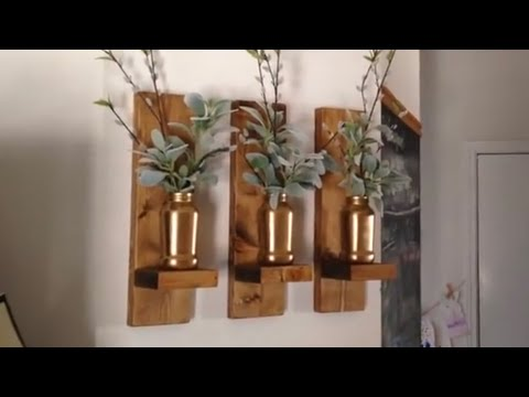 Easy DIY Sconces (CMRW#31)