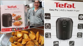 Tefal Easy Fry XL   Health Fryer   Airfryer   Unboxing + Cooking Potato Wedges