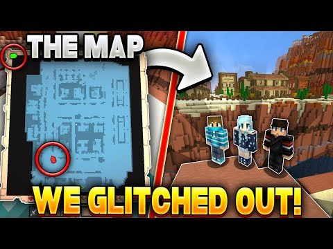 WE GLITCHED OUT OF THE MAP ON HYPIXEL MURDER MYSTERY!! (BANNABLE EXPLOIT!?)