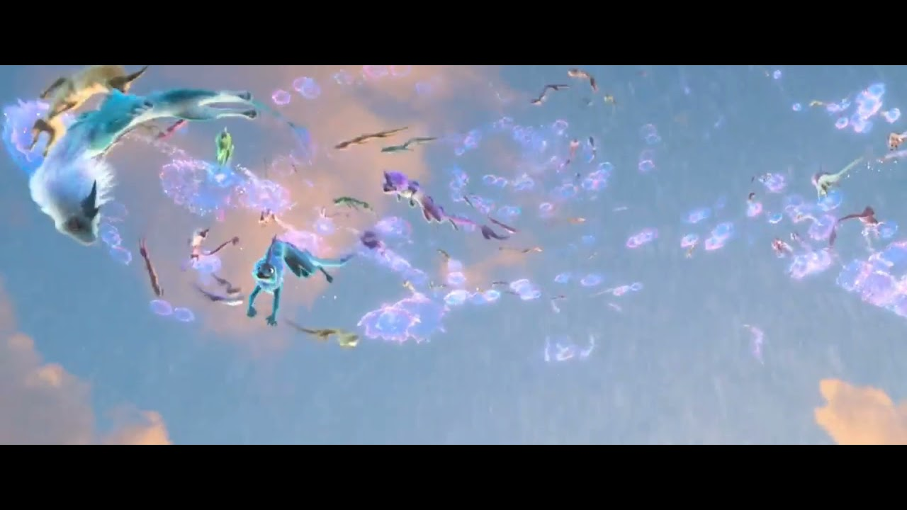 Download Raya and the Last Dragon ending scene
