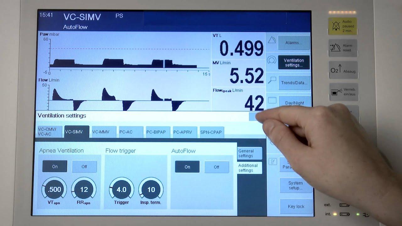 savina 300 youtube rh youtube com Ventilator HME On Circuit Lp10 Ventilator Circuits