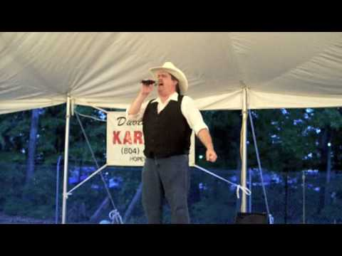 2008 County Fair with David Allen Karaoke