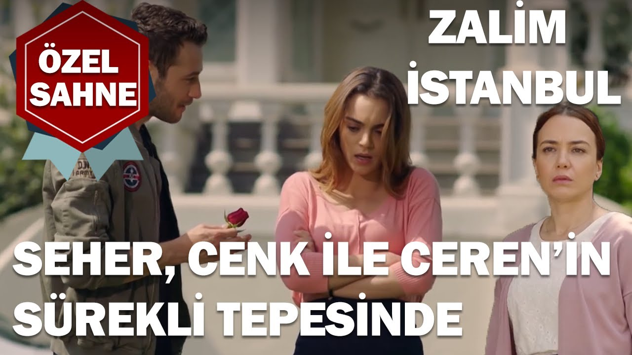 Seher, Cenk İle Ceren'i Takip Ediyor! - Zalim İstanbul Özel Klip