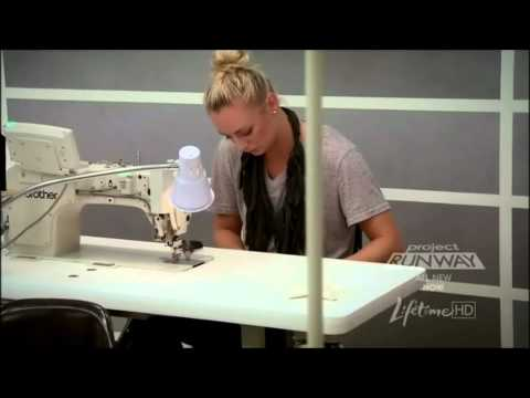 Project Runway 8 - Michael Costello Impersonating Nina Garcia & Michael Kors