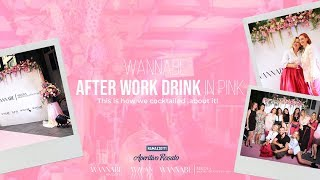 Wannabe Magazine afterwork PARTY IN PINK