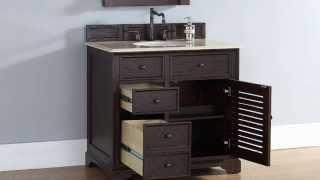 """Savannah 36"""" James Martin Bathroom Vanities In Solid Wood From Homethangs.com"""