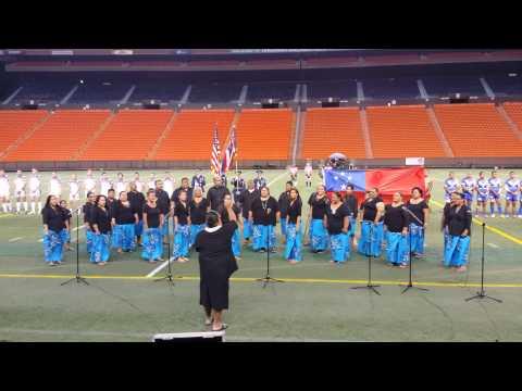 Hawai`i Pono`î. USA VS SAMOA.