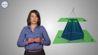 Геометрия 10 кл Усеченная пирамида
