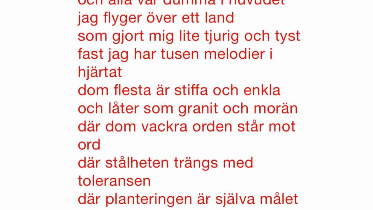 granit och morän text