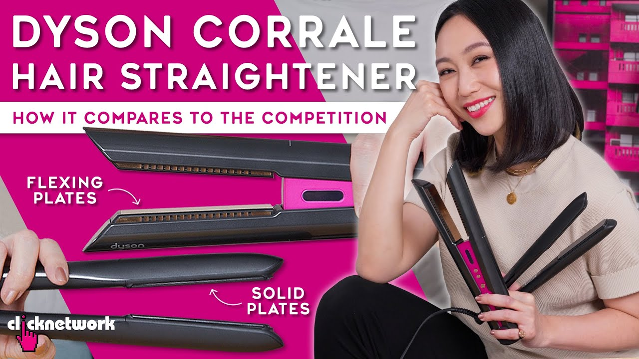Dyson Corrale Hair Straightener - How It Compares To The Competition - Tried and Tested: EP187