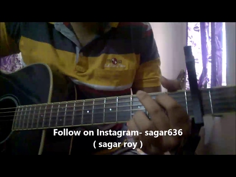 "Roke Na Ruke Naina Guitar Chords Lesson - Arijit Singh, Amaal Malik   ""Badrinath Ki Dulhania"""