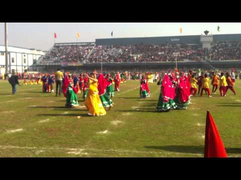rabia performing on republic day 2013 at guru nanak stadium