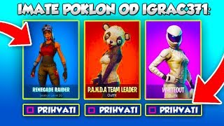 Evo Kako IZGLEDA *GIFTING SYSTEM* u Fortnite Battle Royale!