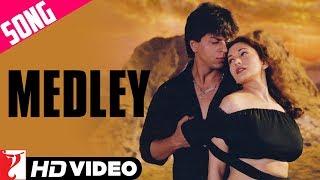 Medley Song | Dil To Pagal Hai | Shah Rukh Khan | Madhuri Dixit | Karisma Kapoor