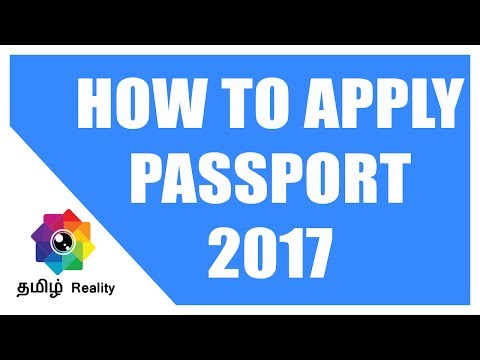How To Apply For Passport Online In India [JULY 2017] - Tamil Reality
