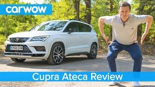 Cupra Ateca SUV 2020 review - see how we made it quicker than a Golf R!