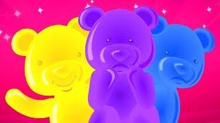 Эмоции Песня | Песня для детей | русский мультфильмы для детей | Jelly Bears Russia | Emotions song