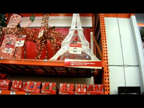 already selling Christmas lights @ Home depot