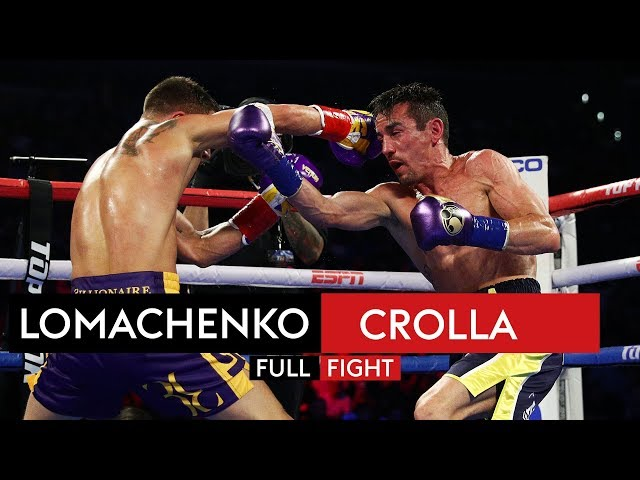 FULL FIGHT! Vasyl Lomachenko vs Anthony Crolla