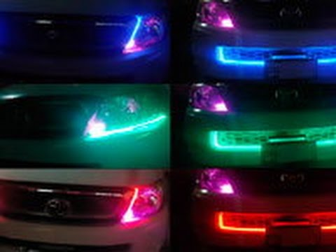 Como hacer luces led caseras para mi carro youtube - Luces led para salon ...