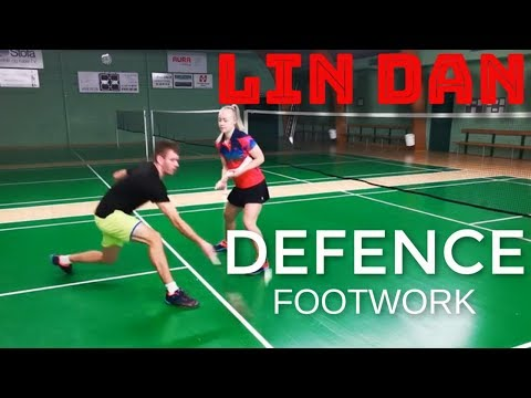 BADMINTON EXERCISE #83 - LIN DAN DEFENCE EXERCISE, SIMPLE BUT VERY EFFECTIVE
