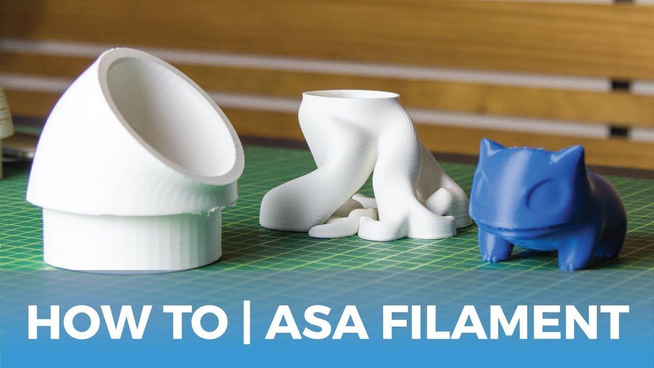 How To Succeed When 3D Printing With ASA Filament