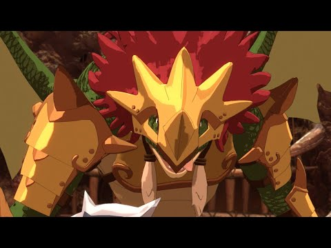 Ni no Kuni 2: Wyvern Warlord Boss Battle Gameplay