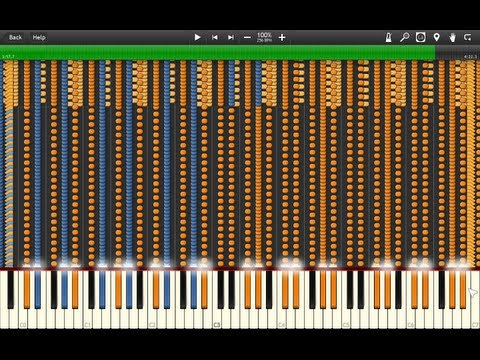 [NO LAG] Synthesia: Vocaloid - The Disappearance of Hatsune Miku Black
