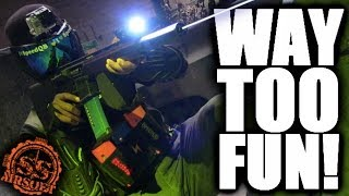 Full Auto CQB Airsoft Game! Would You Play?