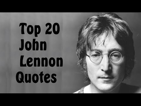 Top 20 John Lennon Quotes Author Of In His Own Write