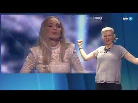 Tegnspråktolkning av Grand Prix-låtene - MGP 2016