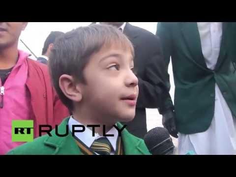 Pakistan: Watch Peshawar kids' FIRST day back since Taliban attack