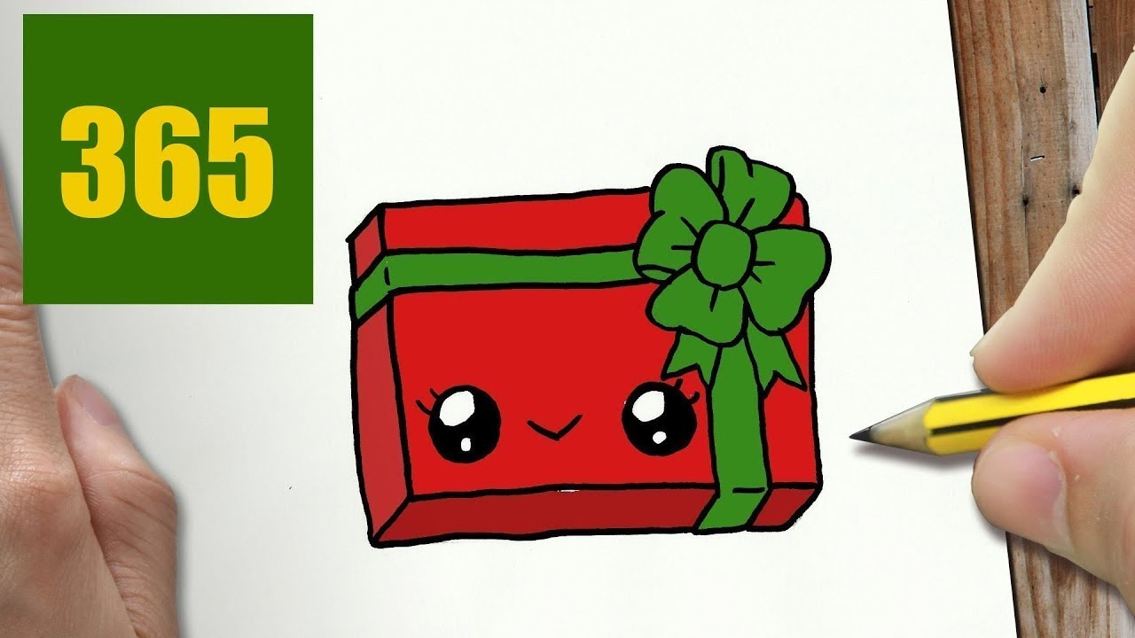 Come disegnare regali di natale kawaii passo dopo passo for Regalo cose