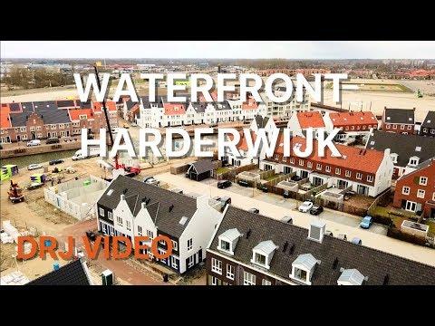 Drone beelden Waterfront Harderwijk maart 2018
