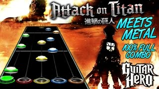 Скачать Attack On Titan Meets Metal 100 FC Guitar Hero Custom Song
