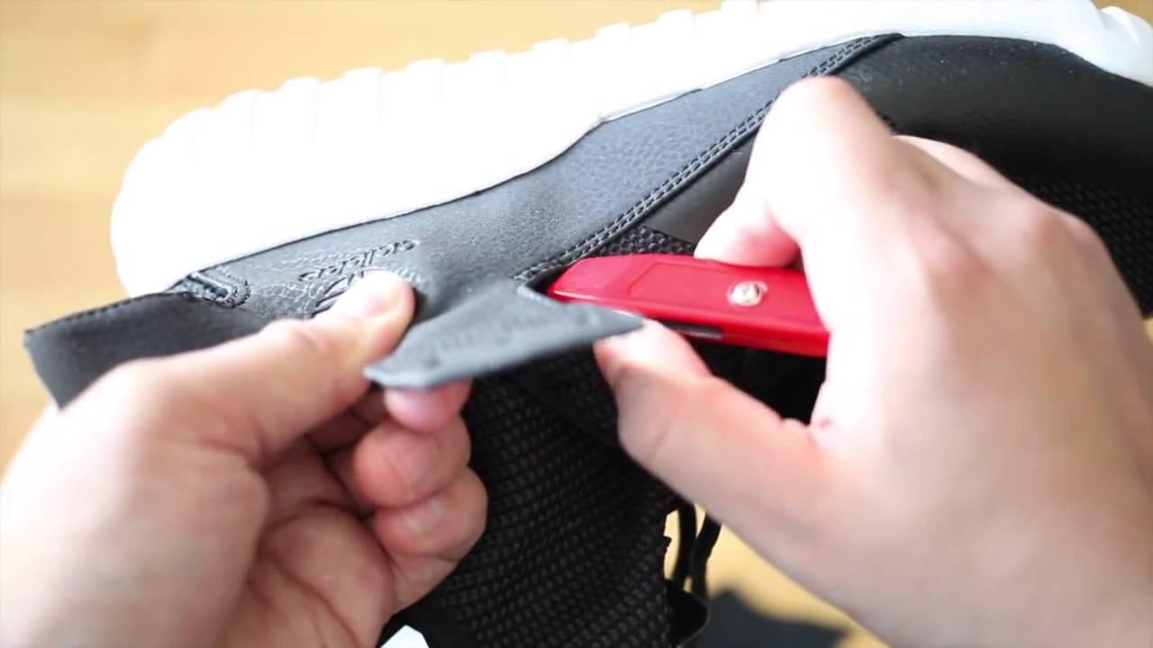 Cutting Apart The Feet! adidas Tubular X On Feet! The YouTube e2e499