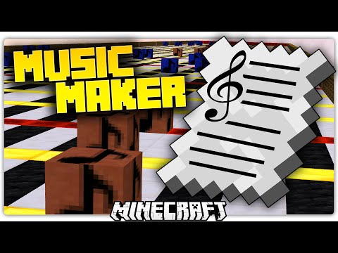 Minecraft 1.9 MUSIC MAKER | Compose ILLUMINATI Mario Music