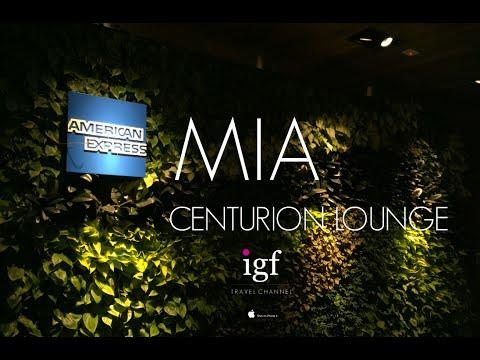 American Express Centurion Lounge   Miami International Airport