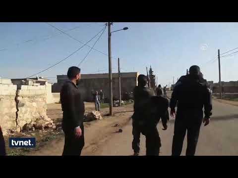 Turkish backed FSA rescued the villages Şavarighat and Melkiye in Afrin district 2018