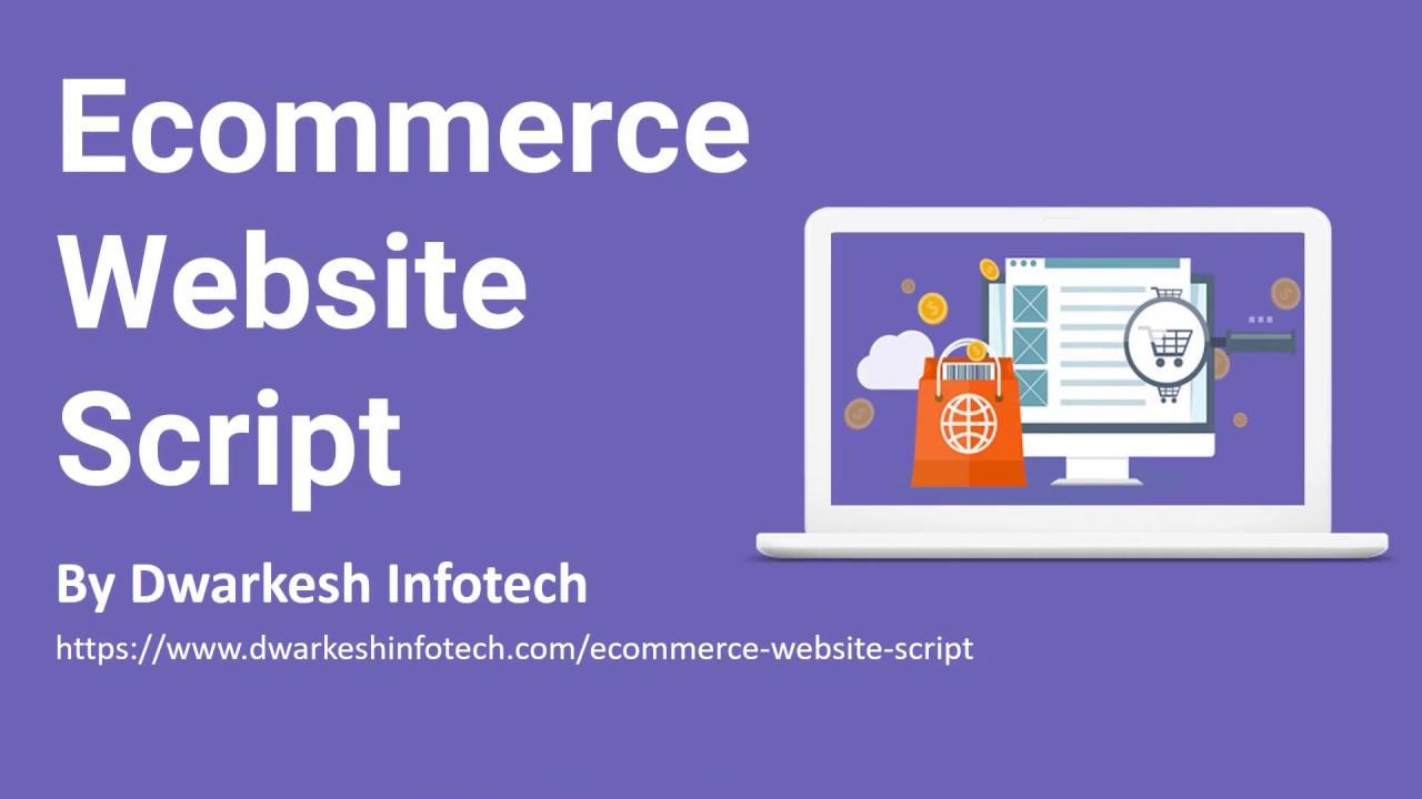 eCommerce Website Script - Build eCommerce website like amazon & alibaba for eCommerce business